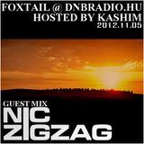 Nic ZigZag - Guest Mix on FOXTAIL @ DNBRADIO.HU