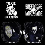 Jensen vs. Nekrosystem @ Toxic Sickness Radio presents Speedcore Worldwide & Friends