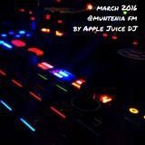 Apple Juice DJ @ Muntenia FM // March 2016