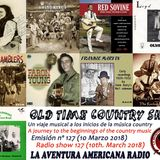 127- Old Time Country Shots (10 Marzo 2018)