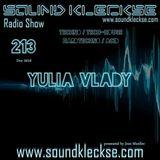 Sound Kleckse Radio Show 0213 - Yulia Vlady - 28.11.2016