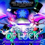 """Rufus White Live @ the Lucky Life """"House of Luck"""", Ibiza Rocks House"""