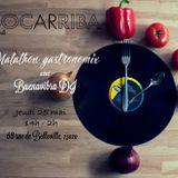 BOCARRIBA  Invite  BuenavibraDJ  pour le 1er  Marathon Gastronomix  12h Empanadas Bailables