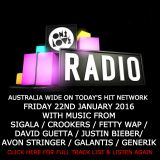 onelove radio 22nd January 2016