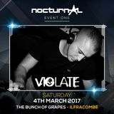 Dj Violate Nocturnal Event 1 Warm Up Mix