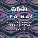 WE ARE THE SUNSET presents LEO MAS @ Hackney Downs Free Festival 27.08.16