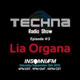 TechnA radioshow #3 featuring Lia Organa