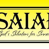 "#6 Isaiah: God's Salvation for Sinners - ""God's Presence"" (Isaiah 41) (Pastor Zach) September 30, 20"