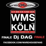 Warehouse Club-WMS-PARTYMIX Finale - Dj  DAG - We are Children of the 90´s