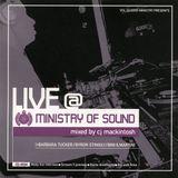CJ Mackintosh Live @ The Ministry Of Sound CD