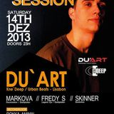 Du'ArT 3h set @ Raumstastion , Switzerland - 14.12.2013