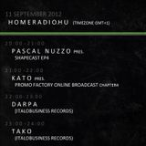 KATO Promo-Factory Radio Broadcast Live@Pascal Nuzzo pres. Shapecast Episode4 Radio Show 20120911