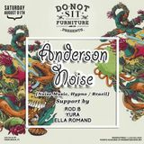 Rod B. @ Do Not Sit with Anderson Noise- South Beach