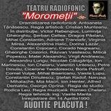"""AICI AVETI INREGISTRAREA de  TEATRU  RADIOFONIC din FONOTECA PROPRIE: """"Morometii"""" -de Marin Preda"""