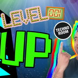 LevelUp radio show by Carradine @ technoroom.es