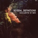 Several Definitions - DJ Mix for Knee Deep In Sound