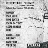 Paula Cazenave @ CODE 132 (Fabrik) 12-01-19