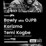 Session #003 - Karizma, Bowly aka OJPB, Temi Kogbe