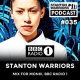 Stanton Warriors Podcast #035 : Stanton Mix for Monki, BBC Radio 1