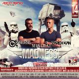 2017.01.14. - Minimal Madness - RED RING, Jászberény - Saturday