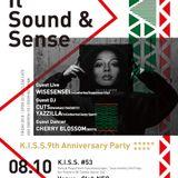 DJ CUTS LIVE@K.I.S.S.''9''TH ANNIVERSARY(FUKUSHIMA)