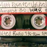Matt Positive on 'Uplifted Radio' August 30 1998 (WHPK 88.5FM Chicago)