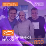 Armin Van Buuren - A State Of Trance 850. (Part 1 XXL - Above & Beyond)