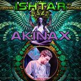 Akinax - MIX PROGRESSIVE TO PSYTRANCE - 31/03/2018 22h-00h @ Ishtar