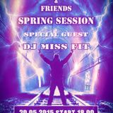 DJ Miss Fit - Hard Force United & Friends Radio Spring Session 2015. 30th May.