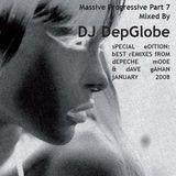 mASSIVE pROGRESSIVE bEST rEMIXES fROM dEPECHE mODE & dAVE gAHAN mixed by DJ DepGlobe. December 2007