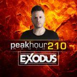 Peakhour Radio #210- Exodus (Aug 23rd 2019)