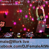 Female@Work - Mega Trance Mix on RauteMusik.fm/trance on August 9, 2015 (LIVE)