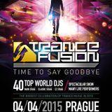 Driftmoon b2n Thomas Coastline - Live @ Trancefusion, Time To Say Goodbye (Prague) - 04.04.2015