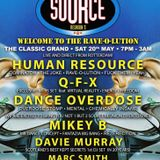 DJ Davie Murray - Source 3 VIP Old Skool Vinyl mix - May 2017