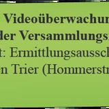 Ermittlungsausschuss Köln: Videoüberwachung im Lichte der Versammlungsfreiheit (5. November 2014)