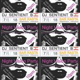 Sentient B [S.C.Sounds] Monthly DJ Set #8 / 2 of 4 Hours / Night Vision Party @ Bar Rasta, Kanagawa