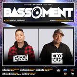 The Bassment w/ DJ Exodus 12.15.17 (Hour Two)