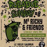 DJ-BOUDDHA + G-NESS PROD feat MR RICKY -RUB-A-DUB SUNDAY n°8 -18-11-2012