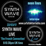THE SYNTH WAVE SHOW 'The French Connection' Synth Wave Live Special with NEON LINES
