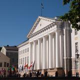 Algas vastuvõtt Tartu Ülikooli. Stuudios oli sellest rääkimas Tuuli Kaldma