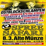 Petra Struwe vs. Leigh Johnson @ 3 Jahre Spreesafari - Alte Münze Berlin - 08.03.2014