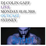 LIVE IN SYDNEY - 1ST JANUARY 2018 - OUTCAST