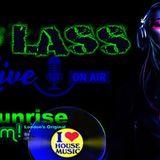 Dj Lass Sunrisefm.co.uk  vocal, tech, deep house live show