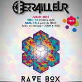 Impro DJ Set Started - Rave Box @Le Ferrailleur (15/07/2016)