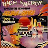 High-Energy Double-Dance Volume 7 (1987) 80 mins non-stop mix