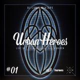 DJ LUNIS : URBAN HEROES #1 LIVE FROM ROOMERS BADEN BADEN