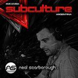 Neal Scarborough – Live @ Subculture, Mandarine Park Buenos Aires, Argentina – 12-JUL-2014