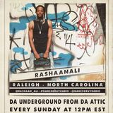 RaShaanAli (Raleigh, NC) - Da Underground From Da Attic 051 (Live on www.dancegruv.net)