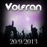 VOLFRAN SET MIX (20 SEPTEMBER 2013)