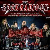 The Michael Spiggos Melodic Rock Show feat. Patrik J Selleby (Bloodbound) 05.03.2017